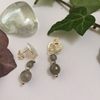 Picture of 925 Sterling Silver-  Sophisticated - Pretty  - Labradorite Beads - Subtle labradoresence - Earrings (E92)