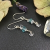 Picture of Charming And Tasteful -  Apatite - Quartz - Sliver Plated -  Earrings (E121)