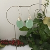 Picture of Delightfully Beautiful - Aventurine - Wire Wrapped - Silver Plated - Earrings (E120)
